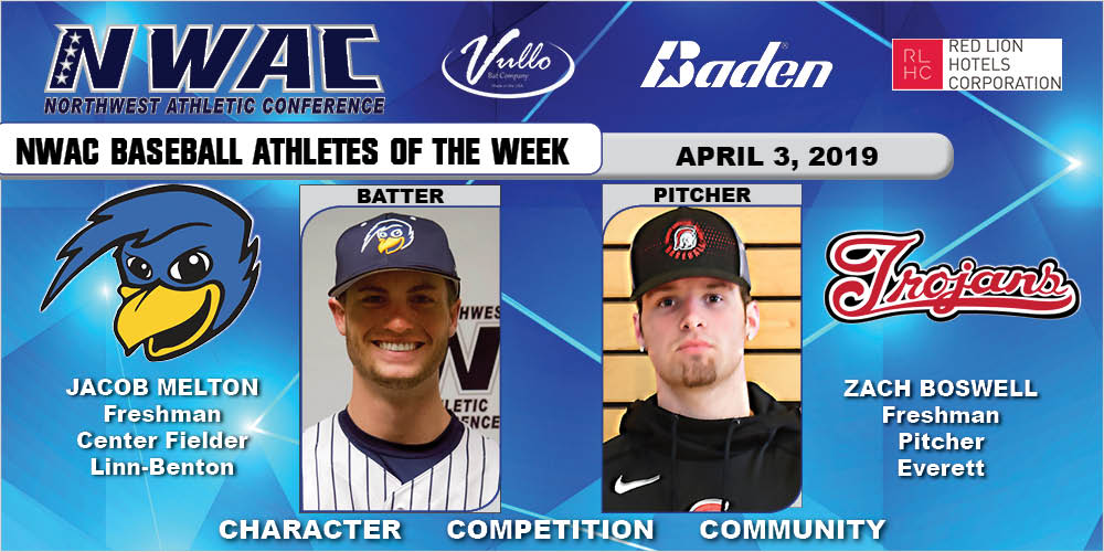 Athletes of the week collage