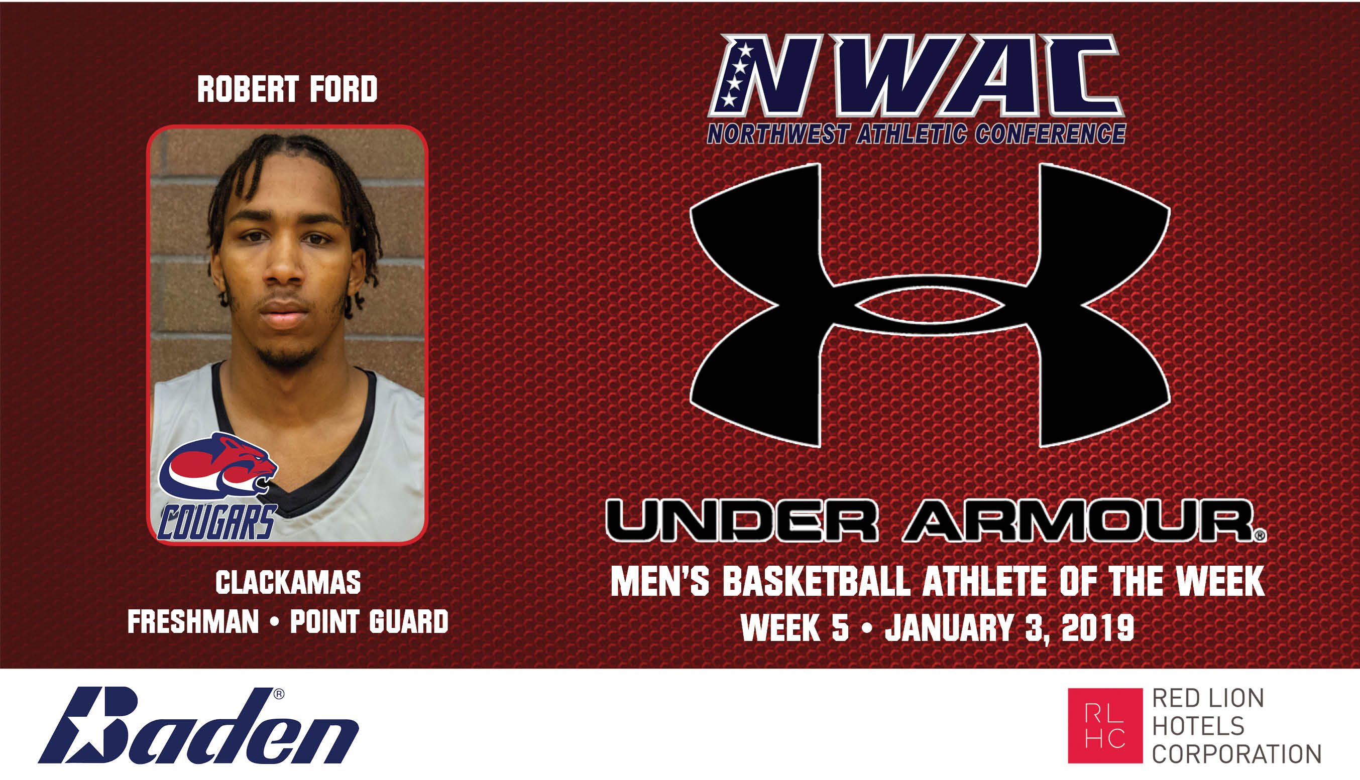 Robert Ford Under Armour photo