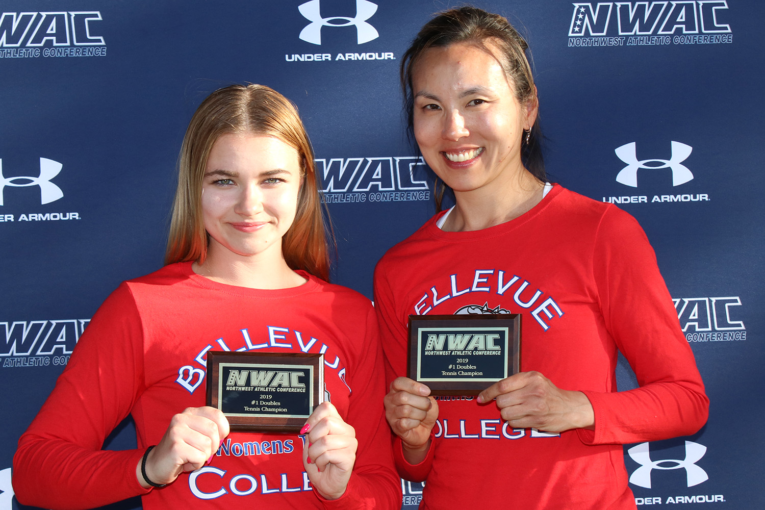 image of Bellevue's Sofia Panchuk and Chen-Yu Tang