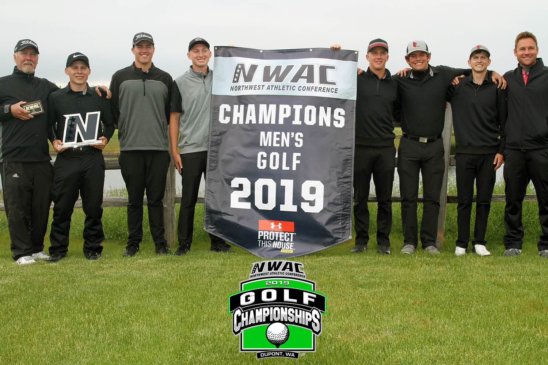 Image of Men's Golf Team Champions