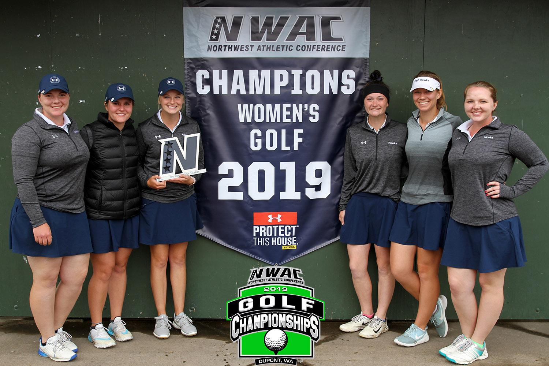 Image of Women's Golf Team Champions
