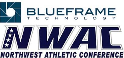 Blue Frame and NWAC logos