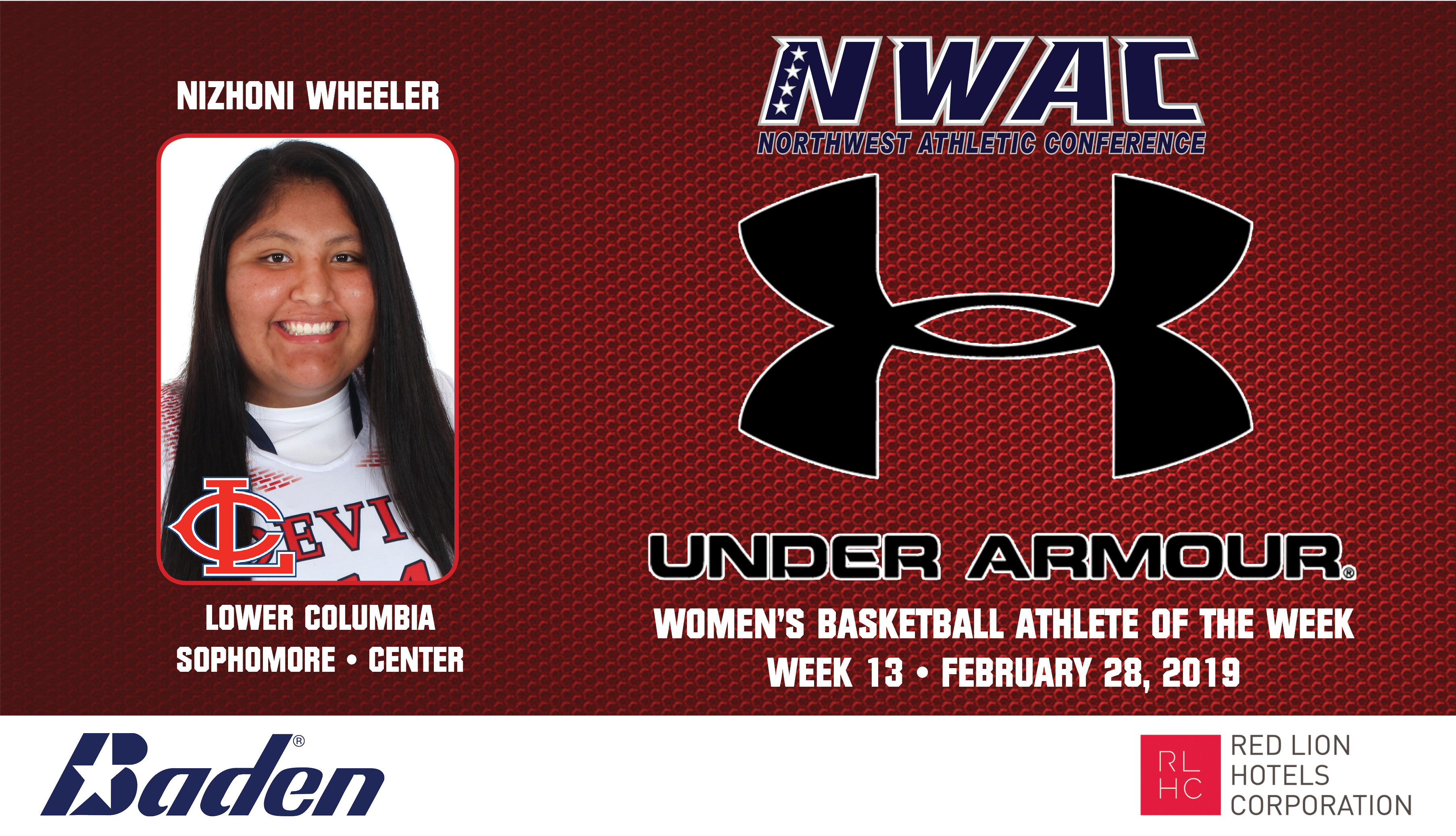 Nizhoni Wheeler Under Armour photo