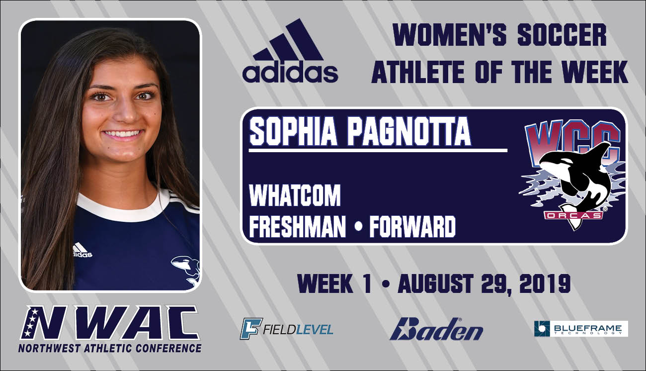 Sophia Pagnotta - Adidas Athlete of the Week graphic