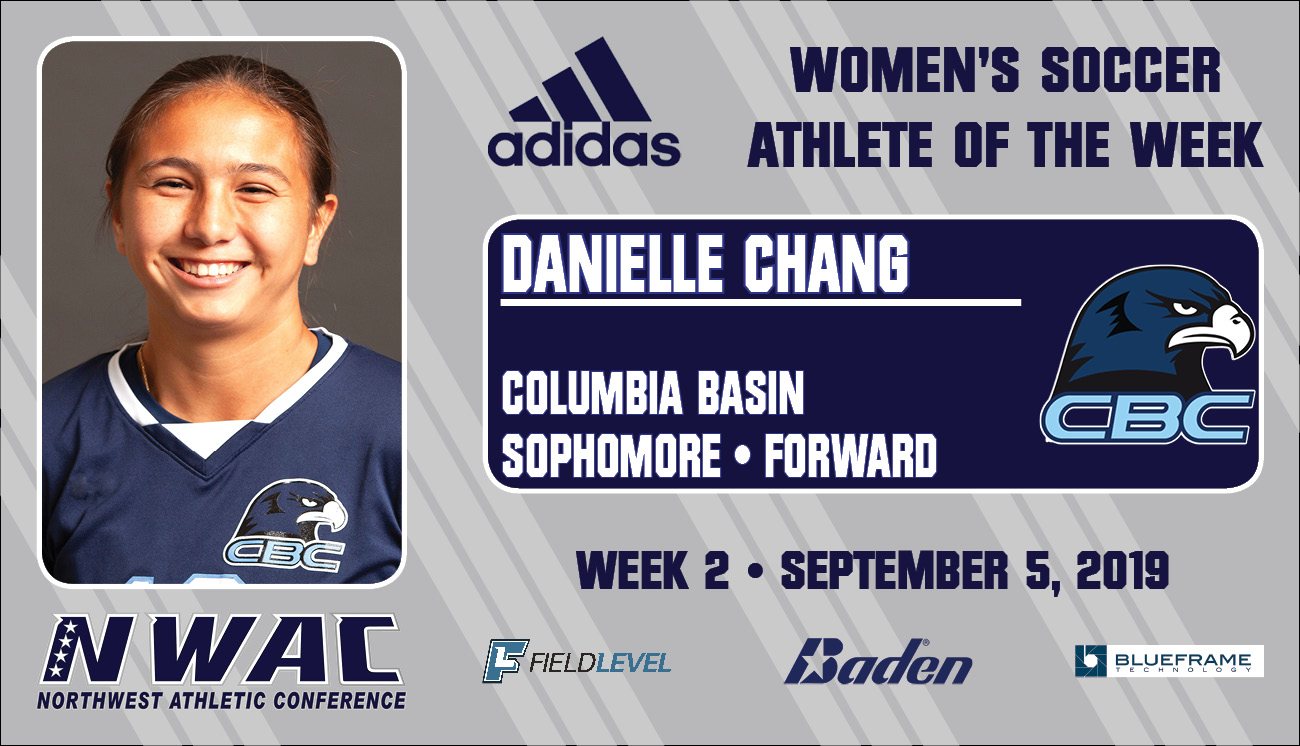 Dani Chang- Adidas Athlete of the Week graphic